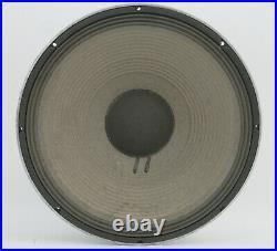 JBL 2226H 15 inch Low Freq 8-Ohm Woofer Speaker Tear On Dust Cap