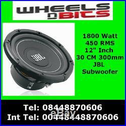 JBL MS-12SD4 1800 Watt 12 Inch 30 CM Car Subwoofer Dual 4 Ohms 450 RMS