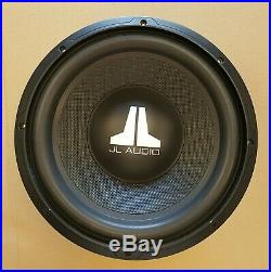 JL AUDIO 12WX-4 12-Inch 4-Ohm Subwoofer NEVER USED with Orig PACKAGE and Manual