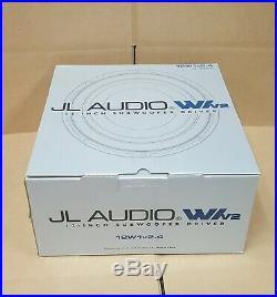 JL Audio 12W1V2-4 12-inch 4-ohm Subwoofer BRAND NEW IN ORIGINAL PACKAGING