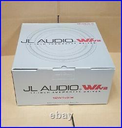 JL Audio 12W1V2-8 12-inch 8-ohm Subwoofer BRAND NEW IN ORIGINAL PACKAGING