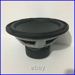 JL Audio 12W3V3-8 12 inch 500W Subwoofer Driver Single 8 Ohm Coil Used