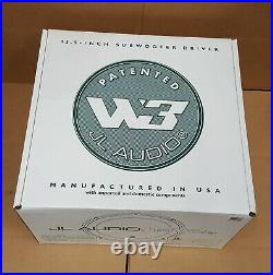 JL Audio 13W3V3-4 (92157) 13.5-inch 4-ohm Subwoofer NEW in OEM PACKAGING