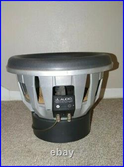 JL Audio 13W7 13.5 inch Subwoofer 1.5 ohm coils New Foam Surround, Fully working