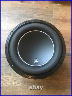 Jl Audio 10W6v3-d4 Shallow Mount 10inch Subwoofer Speaker Bass Driver 4ohm