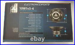 Jl Audio 10w1v3-4 10 4 Ohm Subwoofer 10-inch New 10w1 W1v3 New Small Box Sub