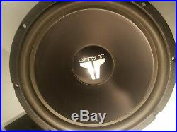 Jl Audio 12w1 4 Ohm Old School 12 Inch Subwoofers