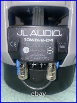 Jl audio 10w6v2 Car Subwoofer 10 Inch Dual 4ohm