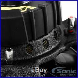 KICKER 12 Inch 300 Watt 4-Ohm Car Audio Sub Subwoofer & Box Enclosure (2 Packs)