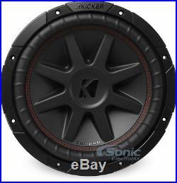 KICKER 43CVR122 800W 12 Inch CompVR Dual 2-Ohm Car Subwoofer Car Audio Sub
