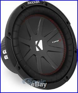 KICKER 43CWR104 800W 10 Inch CompR Dual 4-Ohm Car Subwoofer Car Audio Sub Woofer