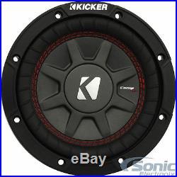 KICKER 43CWRT671 300W 6.75 Inch CompRT Dual 1-Ohm Car Subwoofer