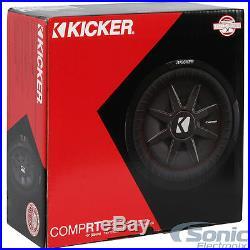 KICKER 43CWRT672 300W 6.75 Inch CompRT Dual 2-Ohm Car Subwoofer