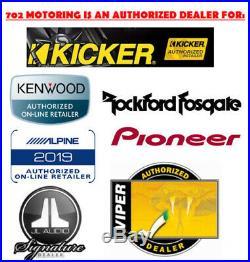 KICKER 44CVX152 2000 WATT DUAL 2 Ohm VOICE COIL 15 INCH ROUND CVX SUBWOOFER NEW