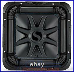 KICKER 44L7S104 1200 WATT DUAL 4 Ohm VOICE COIL 10 INCH SQUARE L7S SUBWOOFER NEW