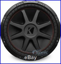 KICKER CVR154 CompVR 1000W 15 Inch CompVR Series Dual 4-Ohm Car Subwoofer