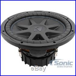 KICKER CompVX 44CVX122 1500W 12 Inch Comp VX Dual 2-Ohm Car Subwoofer