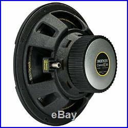 Kicker 10 Inch CompC 500 Watt 4 Ohm Single Voice Coil SVC Subwoofer (2 Pack)
