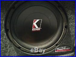 Kicker 10 Inch Competition Subwoofers PAIR 10C old School 4 ohm