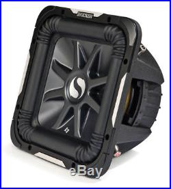 Kicker 11S10L7D2-N Car Audio Solobaric 10-Inch L7 Dual 2 Ohm 1200W Subwoofer