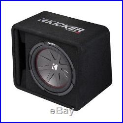 Kicker 12 Inch 1000 Watt 2-Ohm Ported Vented Subwoofer Enclosure Box 43VCWR122