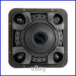 Kicker 12-Inch Car Audio Solo-Baric Subwoofer, Dual Voice Coil, 2-Ohm 750 Watt