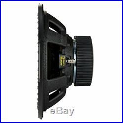 Kicker 12 Inch CompC 1200 Watt 4 Ohm Single Voice Coil SVC Subwoofer (4 Pack)
