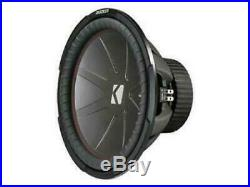 Kicker 43CWR152 CompR 15-Inch Subwoofer, Dual Voice Coil, 2-Ohm, 800W