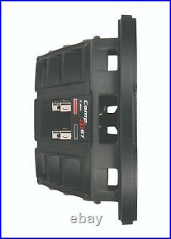 Kicker 43CWRT82 CompRT 8-Inch Subwoofer, Dual Voice Coil, 2-Ohm, 300W