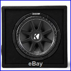 Kicker 43VC124 Comp 12 Inch Subwoofer in Ported Enclosure 4 Ohm