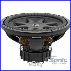 Kicker 44CVX152 2000 Watts 15 Inches Dual 2 ohm Car Audio Subwoofers Open Box