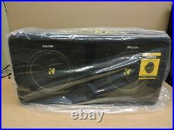 Kicker 44DCWC102 Dual 10-Inch CompC 2-Ohm Subwoofer Enclosure