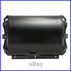 Kicker 45CWTB82 Car Audio Tube Enclosure with 8 Inch 2 Ohm Subwoofer and Grill