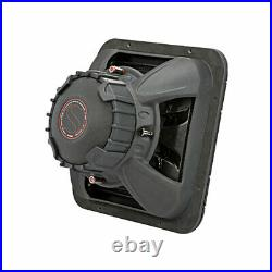 Kicker 45L7R122 1200 Watt Dual 2 Ohm Coil 12 Inch Square L7R Subwoofer (2 Pack)