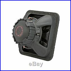 Kicker 45L7R122 1200 Watt Dual 2 Ohm Voice Coil 12 Inch Square L7R Subwoofer