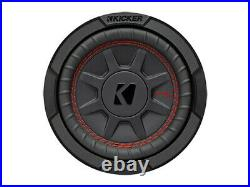Kicker 48CWRT672 6-3/4 inch CompRT 2 Ohm Ultra-Thin Subwoofer