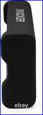 Kicker 48TRTP82 8-Inch Enclosed Subwoofer, CompRT Car Audio Sub, 300W RMS, 2 Ohm