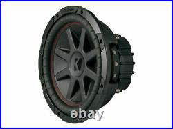 Kicker CVR10 CompVR 10 Inch 250mm Subwoofer 2 Ohm DVC Bundle