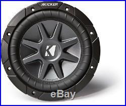 Kicker CVR15D4 15-inch CompVR Dual 2-Ohm 500-Watt RMS Sub Subwoofer Install Kit