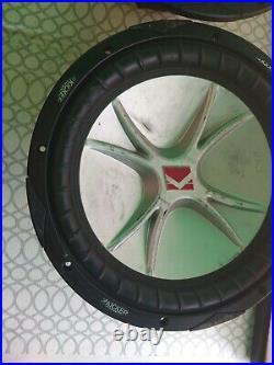 Kicker CVR 12 Inch Subwoofer Dual 4 Ohm Voice Coils 07CVR124 (Pair)