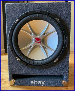 Kicker CVR 12 Inch Subwoofer, Dual 4 Ohm Voice Coils, ported cabinet -Local pick