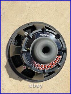 Kicker CVR 12 Inch Subwoofer with Dual 4 Ohm Voice Coils 07CVR124