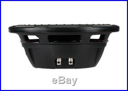 Kicker CWRT10 10-inch CompRT Series Dual 1-Ohm 600W Sub Subwoofer Install Kit