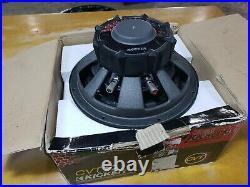 Kicker CompVT 07CVT104 10-Inch 250mm 800 Watt 4-Ohm SVC Subwoofer