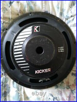 Kicker Competition C12a 12 Inch Subwoofer 8 Ohm Voice Coils