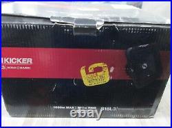 Kicker L3 Series 15 In Inch Subwoofer Square Sub Dual 4 Ohm Solo-Baric 11S15L34