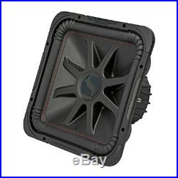 Kicker L7R 10 Inch 1000W Max Power 4 Ohm DVC Square Car Audio Subwoofer (2 Pack)