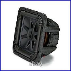 Kicker L7S Solo-Baric 10 Inch 1200 Watt 2 Ohm DVC Square Subwoofer 44L7S102