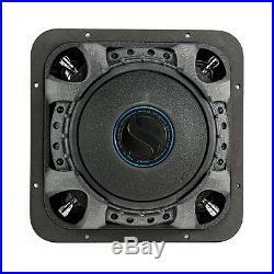 Kicker L7S Solo-Baric 10 Inch 1200 Watt 4 Ohm DVC Square Subwoofer 44L7S104