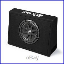 Kicker Single 10-Inch Comp 4 Ohm 150W Loaded Subwoofer Enclosure Box 43TC104